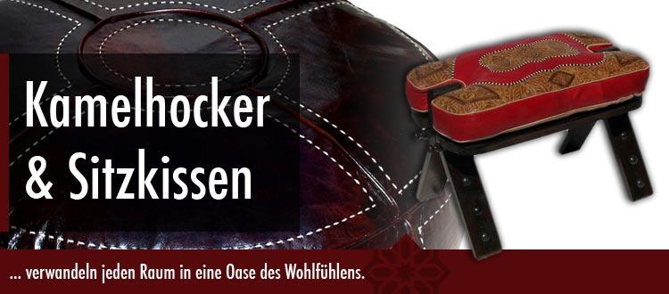 Sitzkissen & Kamelhocker