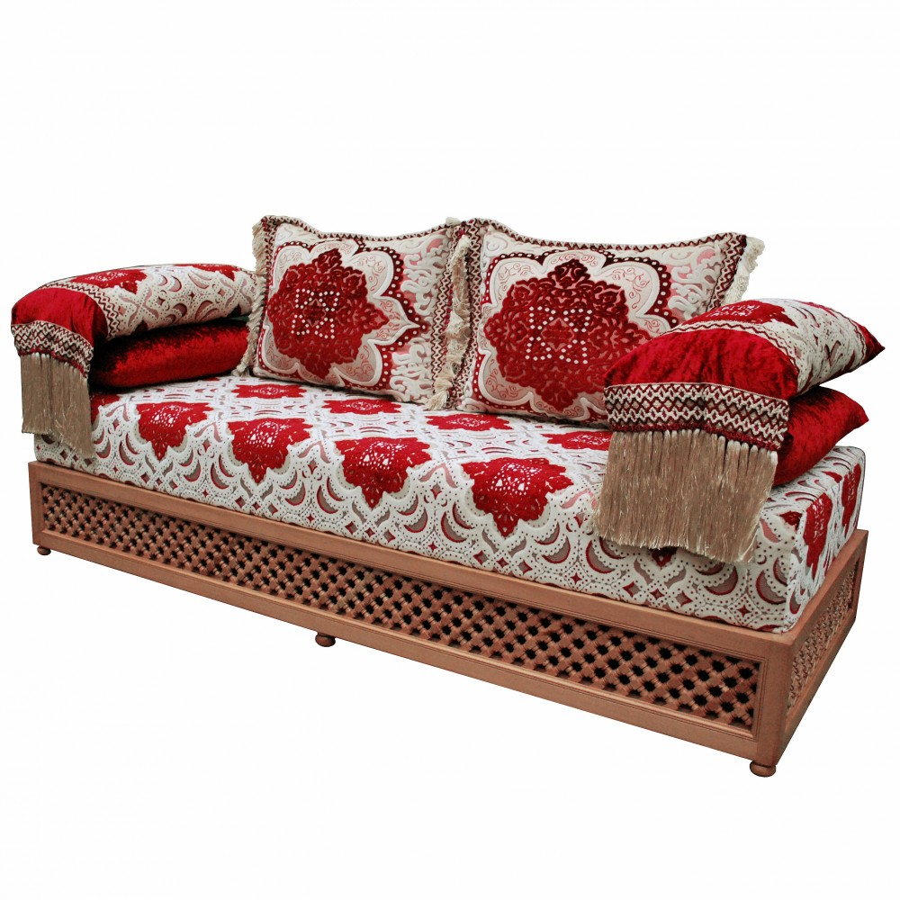 orientalische couch saddari albazar. Black Bedroom Furniture Sets. Home Design Ideas