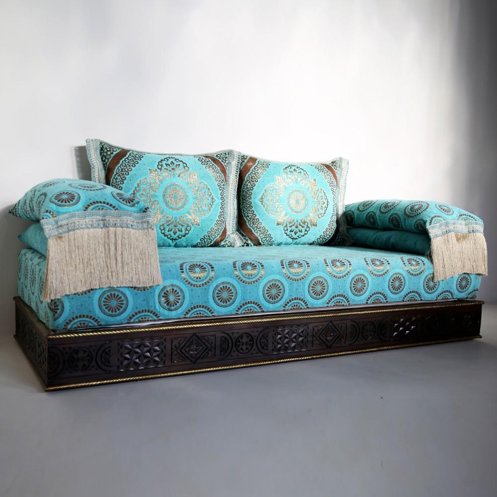 Orientalische Marokkanische Couch Aus Massivholz Amana Albazar