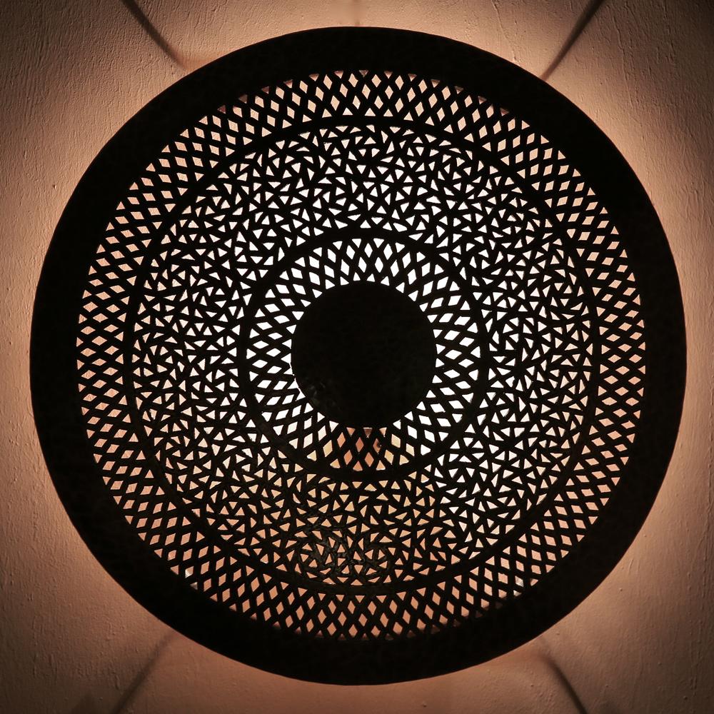 Orientalische Marokkanische Wandlampe Dora Karakor S Aus Messing Albazar