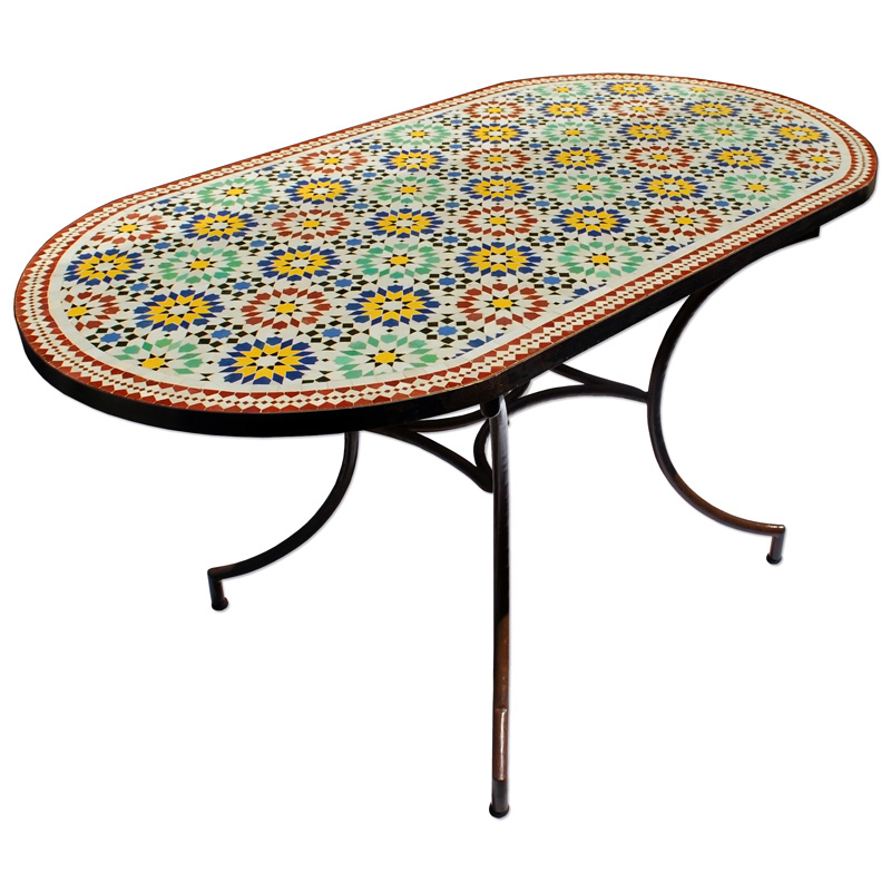Gartentisch Aus Marokko Albazar