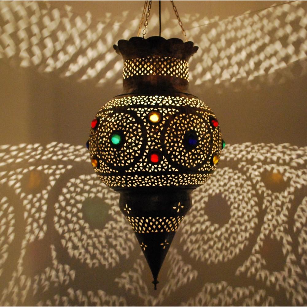 orientalische h ngeleuchte kora xl4 aus messing albazar. Black Bedroom Furniture Sets. Home Design Ideas
