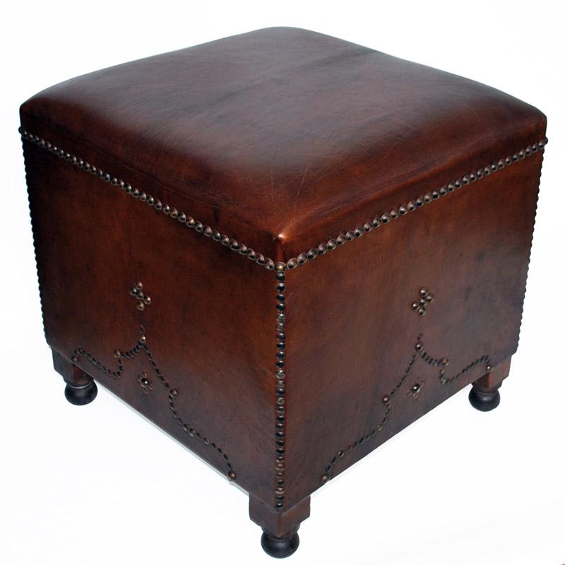 Orientalischer lederhocker boknadal albazar for Sessel orientalischer stil