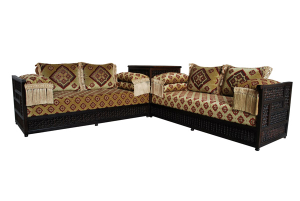 orientalische sitzecke moscharabi albazar. Black Bedroom Furniture Sets. Home Design Ideas