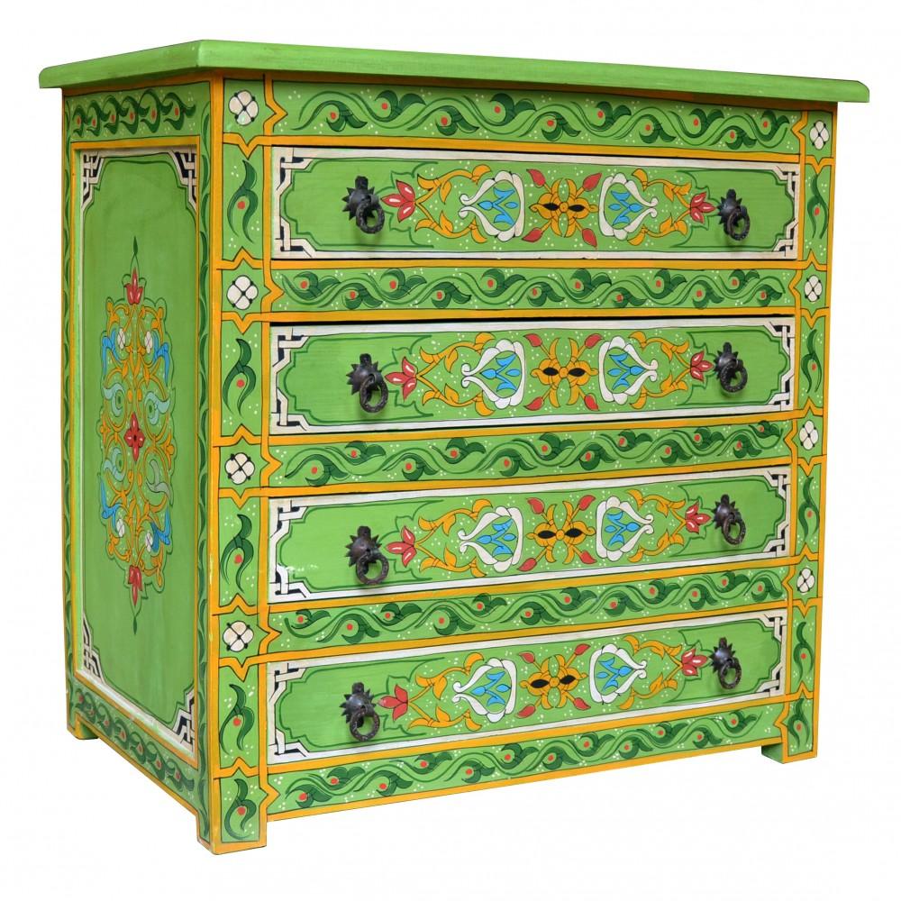 Orientalische Kommode in liebevolle handarbeit wurde die orientalische kommode gefertigte