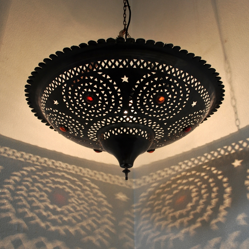 Marokkanische Schüsselförmige Hängeleuchte TASSA KOBA D60cm