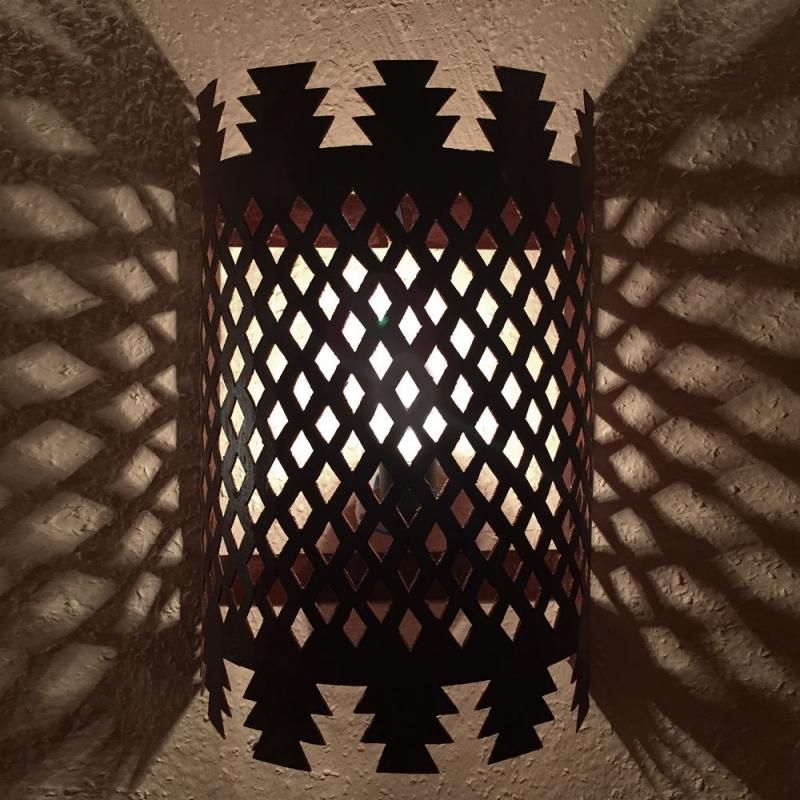 Orientalische wandlampe Wandschirm  SCHABKA-M