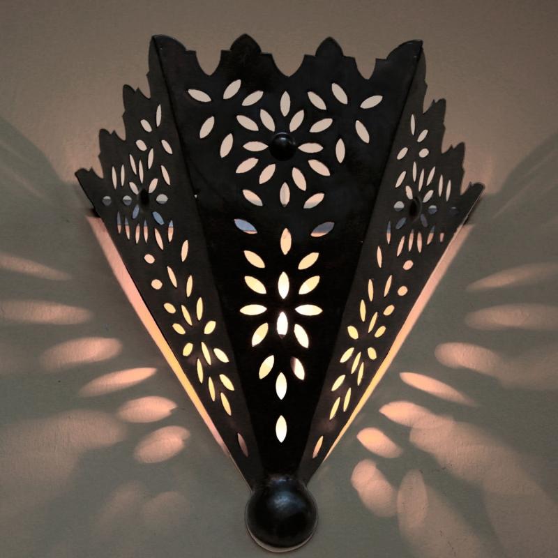 Orientalische wandlampe aus MAROKKO JIHAN