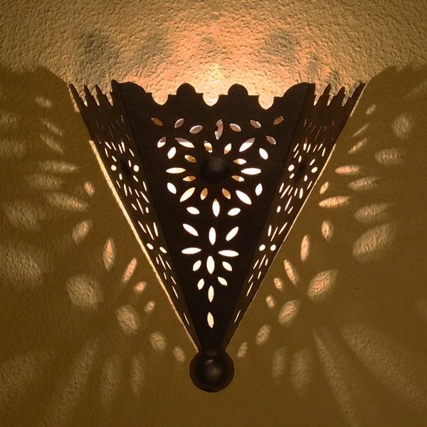 arabische wandlampe