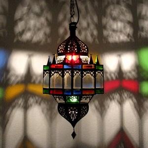 Marokkanische Deckenlampe