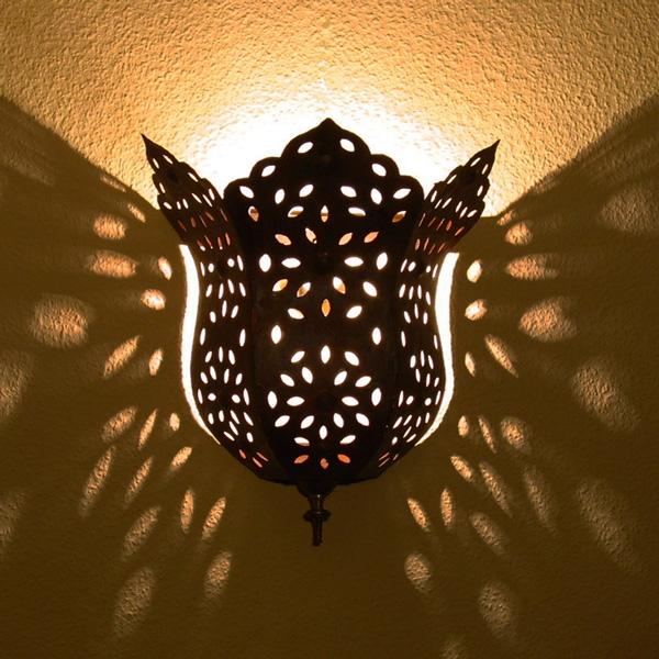 Orientalische Wandlampe HAYAT H37cm