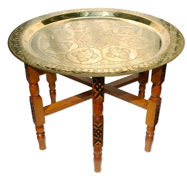 Orient Teetisch aus Messing 70cm