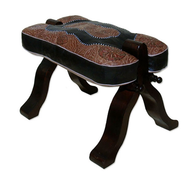 Orientalischer Kamelhocker RABATI Mtarez schwarz