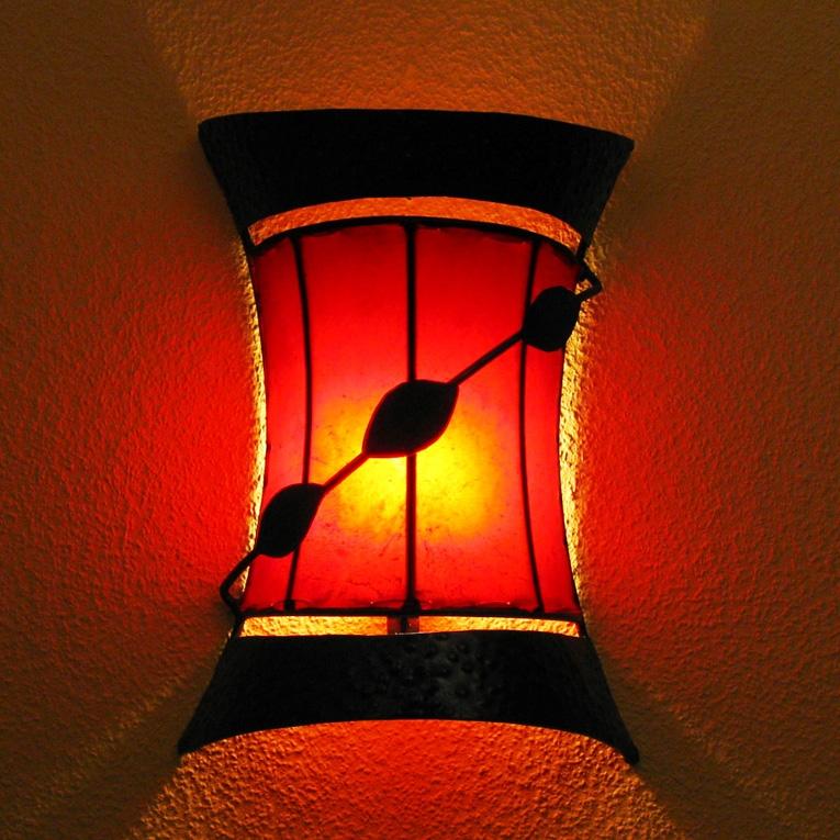 Wandlampe aus Marokko