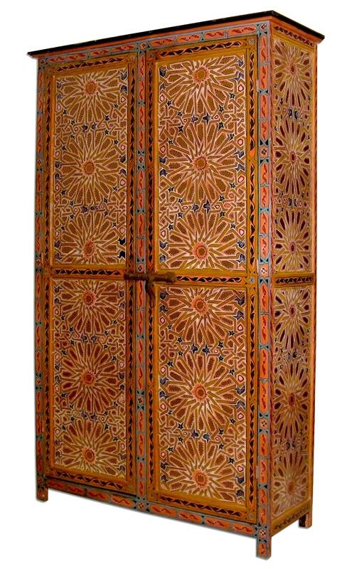 Mauricher Stil -Schrank aus Marokko