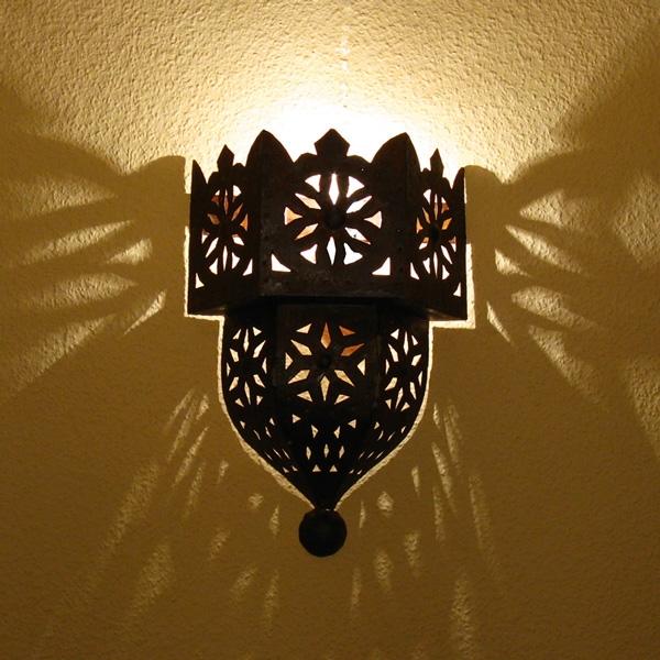 Wandlampe mediterran
