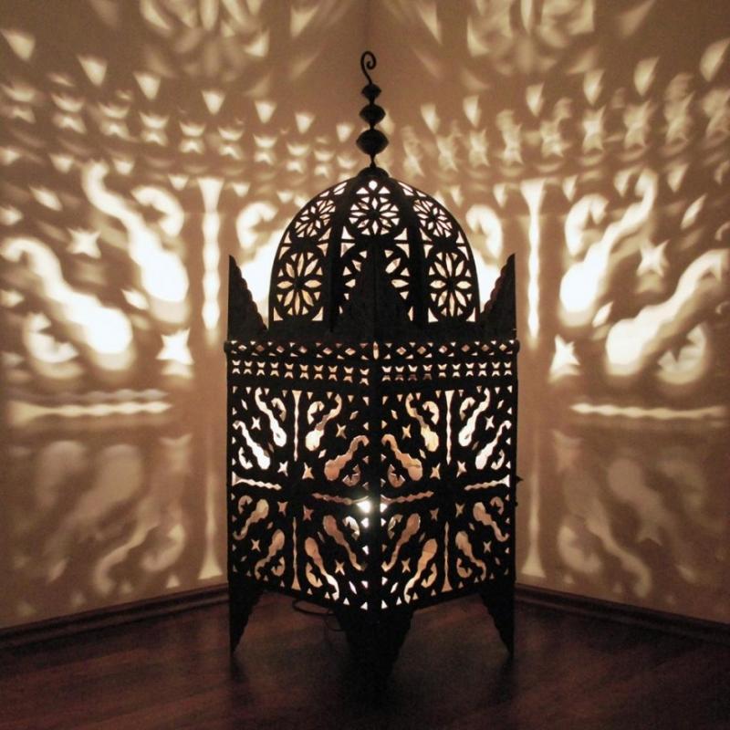 Eisenlaterne aus Marokko