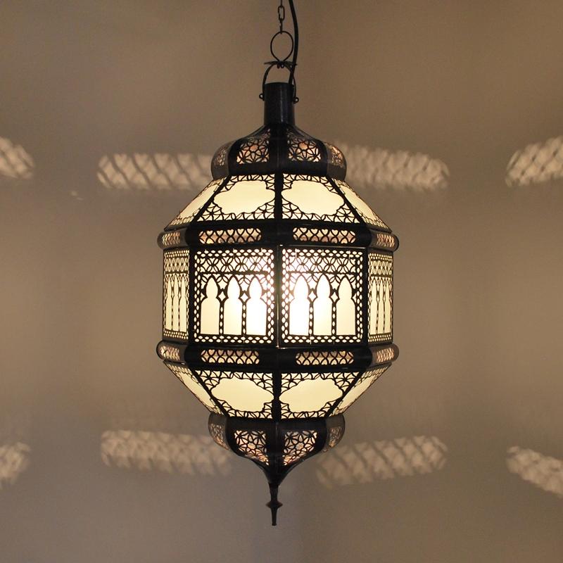 Arabische Deckenlampe Titia-Kwas-XL