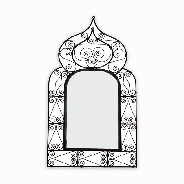 Spiegel aus Schmiedeeisen