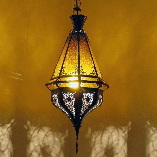 Orientalische Lampe  SAMAKA Amber