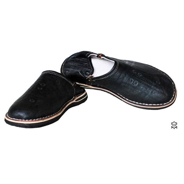 Marokkanischer Schuhe Schwarz