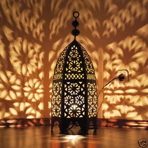 marokkanische metall laterne mseddes h60cm albazar. Black Bedroom Furniture Sets. Home Design Ideas