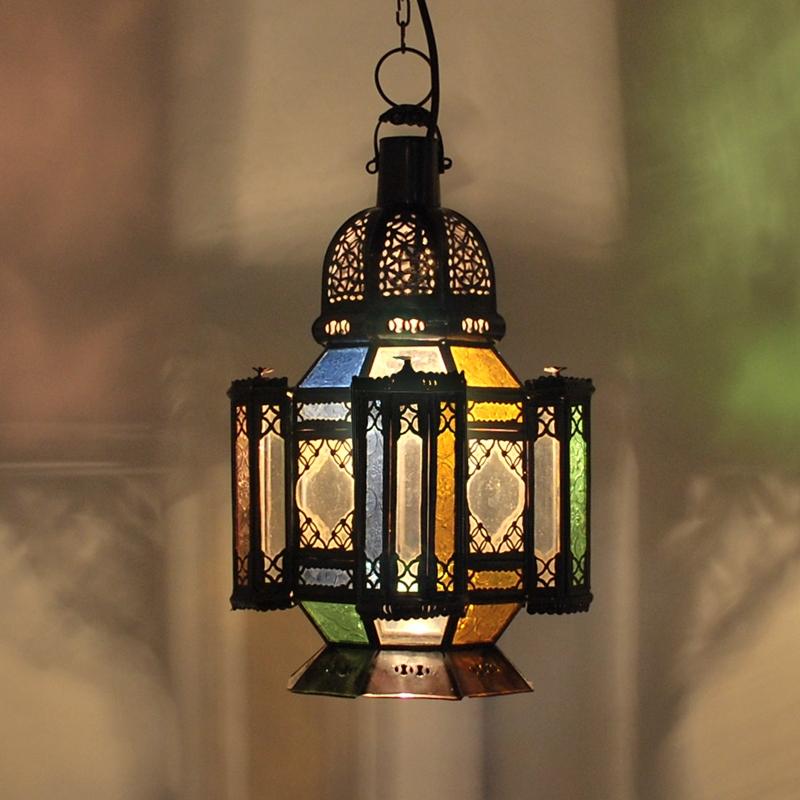 orientalische Glaslaterne HALA