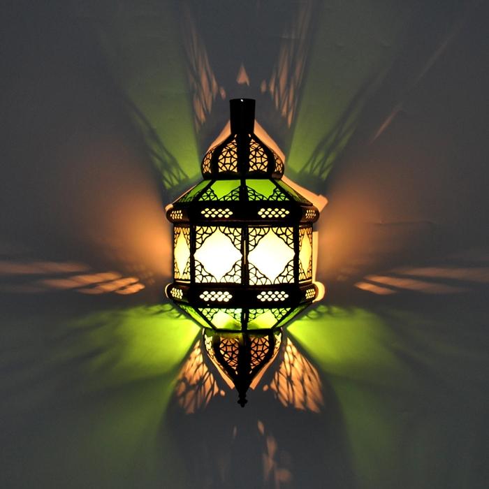 Marokkanische Wandlampe aus Glas TITA