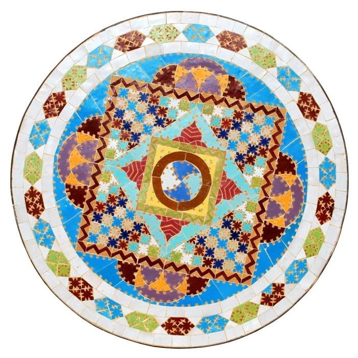 Mosaiktisch aus Marokko GAUDI-2