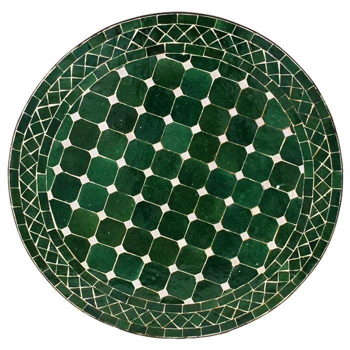 Marokkanischer Mosaiktisch D60cm