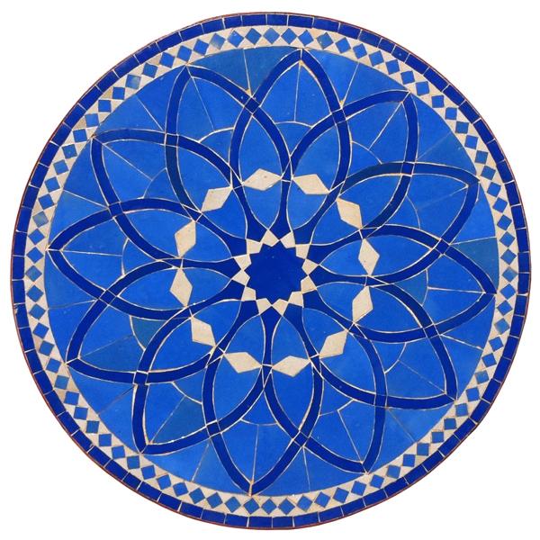 Bistrotisch aus Mosaik