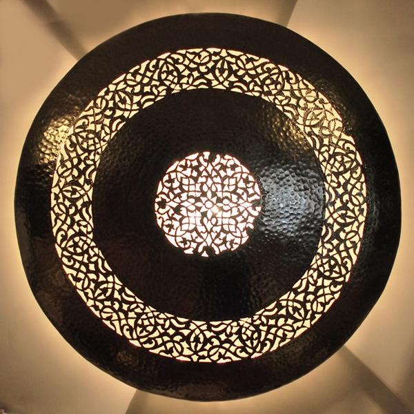 Orientalische Marokkanische Wandlampe Wandleuchte Dora 2 Aus Messing Albazar