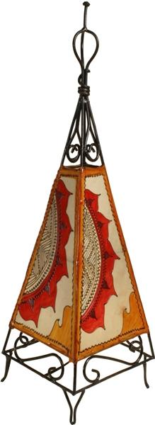 lederlampe aus Marokko