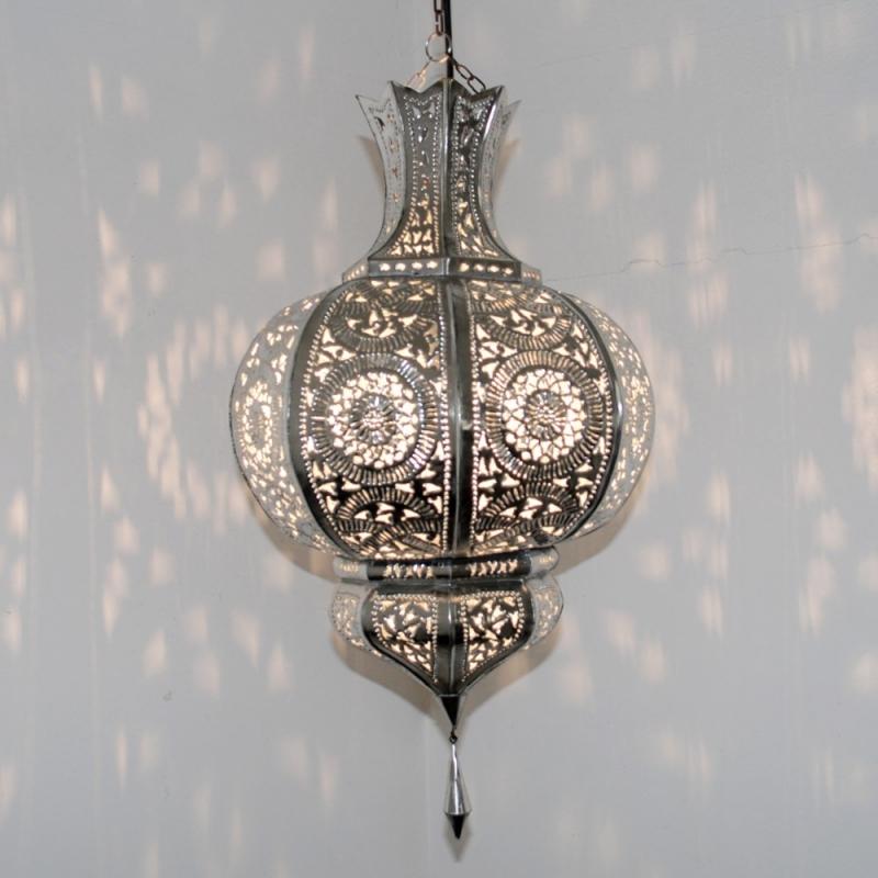orientalische lampen yamina silber albazar ForOrientalische Lampe Silber