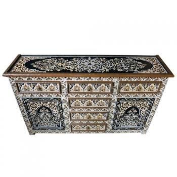 Arabischer Schrank  HAMIDOU handbemalt H105cm