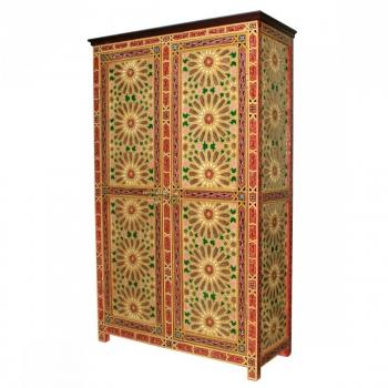 Marokkanischer Holzschrank  Dora H201cm