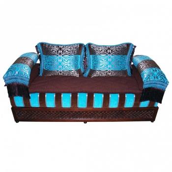 Orientalische Couch Türquasia