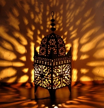 Schmiedeeiserne laterne aus Marokko Jama60