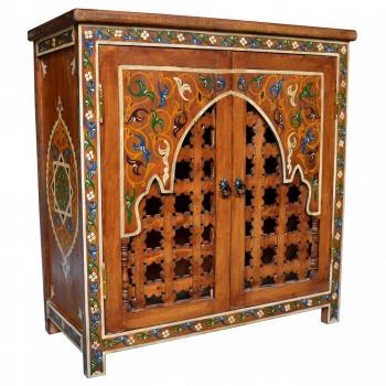 Marokko Schrank  Marhaba Handbemalt