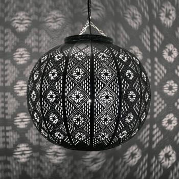 Orientalische Deckenleuchte MIMOSA Silber