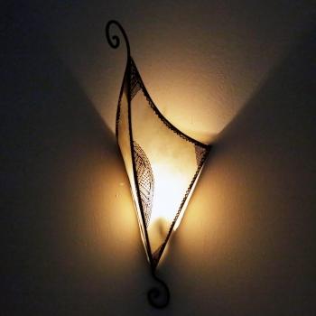 Marokkanischer Lampenschirm RISHA Natur H60cm