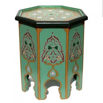 Orientalischer Teetisch aus Holz