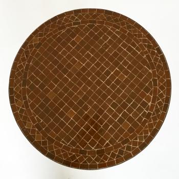 Bistrotisch aus Mosaik -Safiar- D60cm
