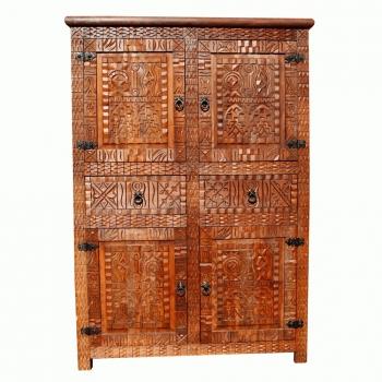 Marokkanischer Holzschrank -Barbari-