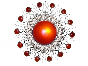 Sonnen-Metall-Leuchte Aarq-85