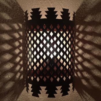 Orientalische wandlampe Wandschirm  SCHABKA