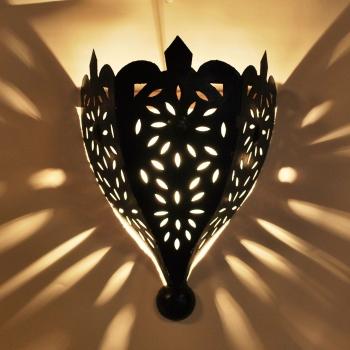 Orientalische wandlampe TOBGA