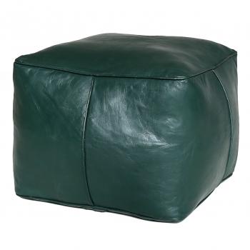 Orientalisches Sitzkissen CARRE Dunkel Grün
