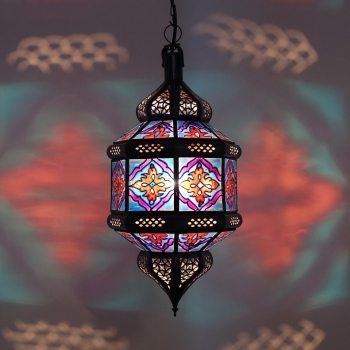 Marokkanische Hängeleuchte Titia-Zwak