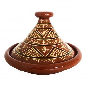 Tajine aus Marokko BERBER D32cm